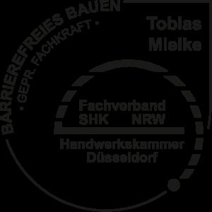 Geprüfte Fachkraft für Barrierefreies Bauen - Tobias Mielke (TM Komfort) - Fachverband SHK NRW, Handwerkskammer Düsseldorf